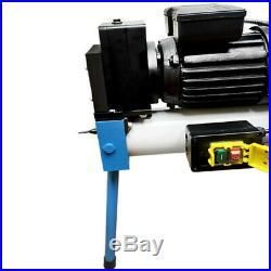1/2 2 Electric 10 TON Hydraulic Pipe Tube Bender Bending 110V Motor 6 Dies