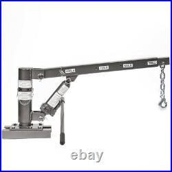 1/2 Ton Capacity Pickup Truck Crane Extra Lift Hoist Load Foldable Swivel Base