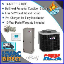 1.5 Ton 14 SEER AirQuest by Carrier Heat Pump System