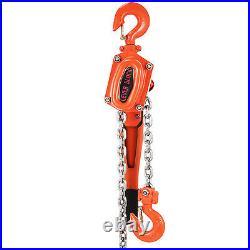 1.5Ton Lever Block Chain Hoist Ratchet Type Come Along Puller 20FT Lifter 1-1/2