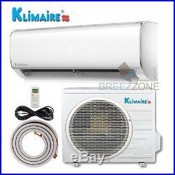 1 Ton 12,000 16 SEER Inverter Ductless Split Air Condtioner Heat Pump 15ft Kit