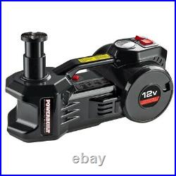 1 Ton Air Lift Jack With On Board Compressor 12 Volt Tire Inflator Electric