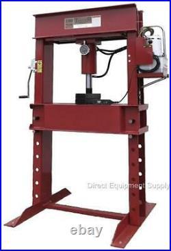 100 TON Electric/Hydraulic H-Frame Shop Press US 150 50