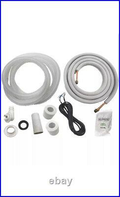 12,000 BTU System Ductless Air Conditioner, Heat Pump Mini split 110V 1 Ton withkit