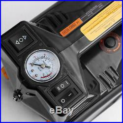 12 Volt 4 Ton Car Hydraulic Electric Floor Jack Tire Inflator Impact Wrench Tool