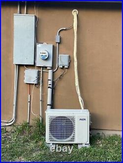12000 BTU 1ton Aux Minisplit with Wifi! SMART AC with heat pump