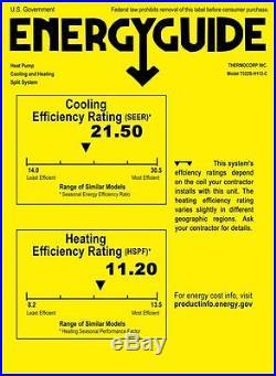 12000 BTU Ductless AC Mini Split Air Conditioner 21 SEER Energy Star1 Ton 120V
