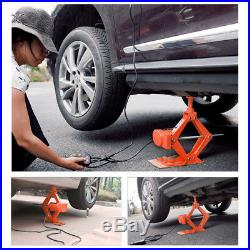 12V 3Ton Car Electric Tire Lifting Car Jacks Hydraulic Air Infatable Floor Jack