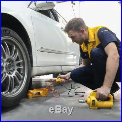 12V 5 Ton Auto Electric Hydraulic Jacks Lifting Tire Change Car SUV Repair Tool