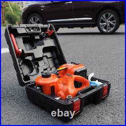 12V 5 Ton Car Jack Electric Hydraulic Jack Tire Jack Electric Impact Wrench SUV
