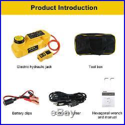 12V 5 Ton Portable Electric Hydraulic Floor Jack Car Jack Lift Tire Repair Tool