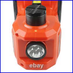 12V 5Ton Car Jacks Electric Hydraulic Floor Jack Air Inflator Pump Impact Wrench