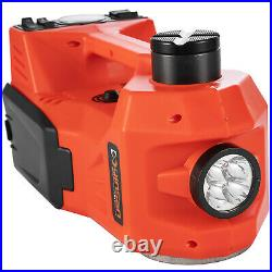 12V 5Ton Electric Hydraulic Floor Jack Car Jack Lift Impact Wrench Tire Tool Kit