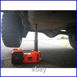 12V DC 5Ton Car Electric Hydraulic Jack Wrench Impact Automotive Repair Tool set