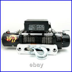12V Electric Winch 5 Ton /10,000 lb with 79' L Synthetic Cable Rope Remote