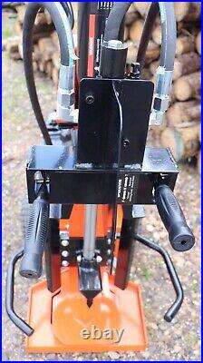 12ton Venom C-Series Electric Log Splitter By Rock Machinery