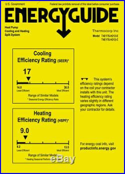 17 SEER 12000 BTU Ductless Air Conditioner, Heat Pump Mini Split 1 TON with KIT