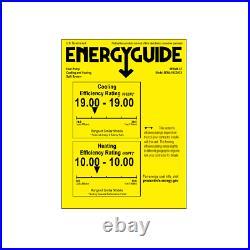18000 BTU Ductless AC Mini Split Heat Pump Air Conditioner 19 SEER 1.5 TON