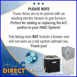 2.5 Ton 14 SEER AirQuest-Heil by Carrier AC+Coil System, Line Set Install Kit