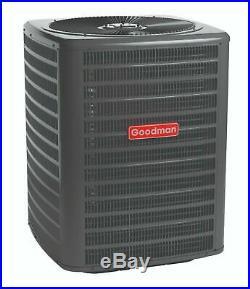 2.5 Ton 14 SEER Goodman A/C Straight Cool GSX140301 & ARUF31B14 Install Kit
