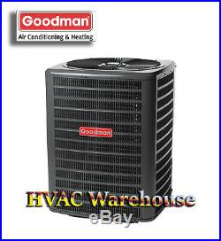 2.5 Ton 14 SEER Goodman HEAT PUMP Condenser GSZ140301 R410a