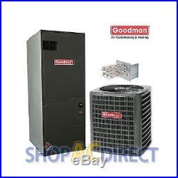 2.5 Ton 14 SEER Goodman Heat Pump Split System GSZ140301 ARUF31B14