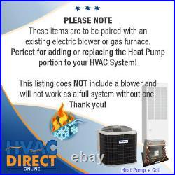 2.5 Ton 14 SEER Mobile Home AirQuest-Heil by Carrier Heat Pump A/C & Coil