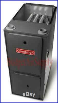 2.5 Ton Goodman 14 seer 95/96% 80K BTU Gas Furnace UPFLOW System GMSS960804CN