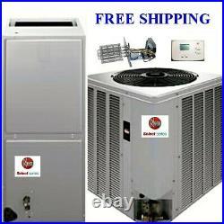 2.5 Ton R-410A 14SEER Rheem Select Elctr System Condenser/Air Handler with Coil