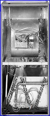 2.5Ton R410A 15SEER Heat Pump System Condenser / Air Handler with Coil & Heating