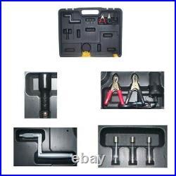 2 Ton 12V Electric Scissor Car Jack 1/2 inch Impact Wrench Portable Lift Jack