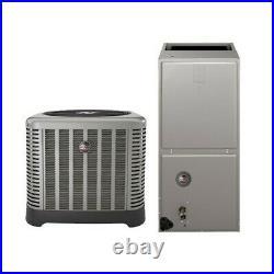 2 Ton 14 Seer Rheem / Ruud Heat Pump System with10Kw Electric Heat Kit