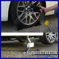 2 Ton Car Lift Power Jack Electric Scissor Tire Change Impact Wrench Tool Kit