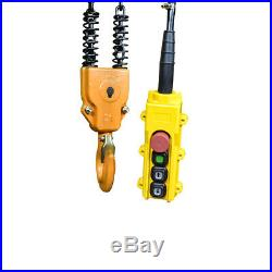 2 Ton Electric Chain Hoist 4400LB Electric Crane Hoist Double Chain 220V 3 Phase