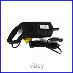 2 Ton Electric Scissor Car Lift Jack Wrench 12V Impact Gun Cigarette Adapter