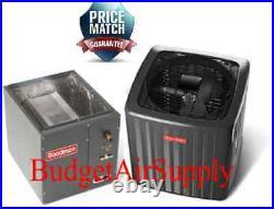 2 Ton Goodman 14 seer 95/96% 60K BTU Gas Furnace DOWNFLOW System GCSS960603BN