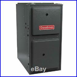 2 Ton Goodman AC/Heat System Install Kit Upflow, 14 SEER 96% AFUE 60K BTU