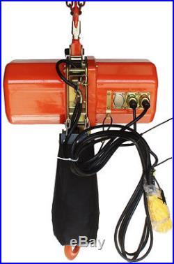2 ton Electric Chain Hoist 4000 LB electric crane hoist 2 ton 230V single phase