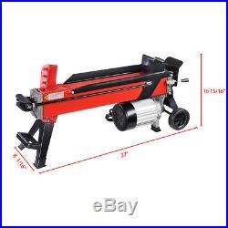 2000W 7 Ton Electrical Hydraulic Log Splitter Firewood Wood Portable Cutter US