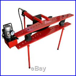 21 Ton Hydraulic 110v Electric Tube Pipe Bender Bending with 1/2 to 4 Dies