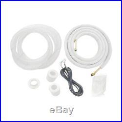 24000 BTU 16 SEER Ductless MINI Split Air Conditioner Heat Pump 2Ton WiFi withKIT