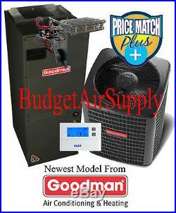 3.5(3 1/2)Ton 15 seer Goodman Heat Pump Multi speed GSZ140421+ASPT47D14+Tstat+