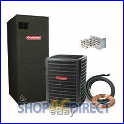 3.5 Ton 14 SEER Goodman Heat Pump Split System GSZ140421 ARUF43C14 TX5N4 25