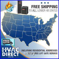 3.5 Ton 14 SEER Goodman Heat Pump System Complete Install Kit/Free Accessories