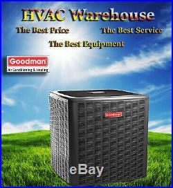 3.5 Ton 16 SEER Goodman Air Conditioner Condenser GSX160421 R410a