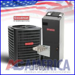 3.5 Ton Goodman 14 SEER AC Split System GSX140421 ARUF47D14