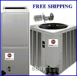 3.5Ton 14 SEER Mobile Home Electric System Condenser / Air Handler with Coil