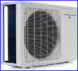 3 TON Tri Zone Ductless Mini Split Air Conditioner, Heater 9000 x 2 + 18000 BTU