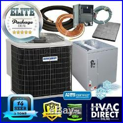 3 Ton 14 SEER AirQuest-Heil by Carrier AC+Coil System, Line Set Install Kit