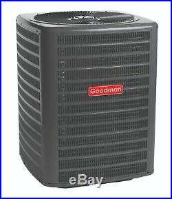3 Ton 14 SEER Goodman A/C Straight Cool System GSX140361 & ARUF37C14 Install Kit